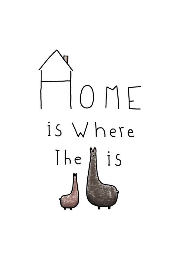 The home with animal