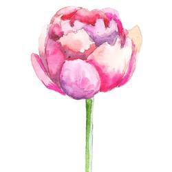 Growing flower  art print by Gallerist