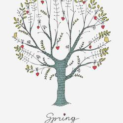 Spring tree art print by Gallerist