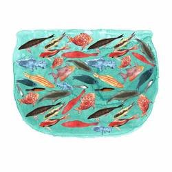 Colourfull fish in water  art print by Gallerist
