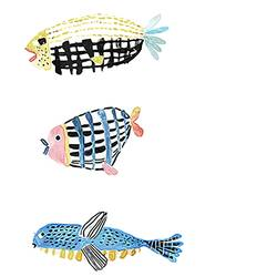 ferindship of fish  art print by Gallerist