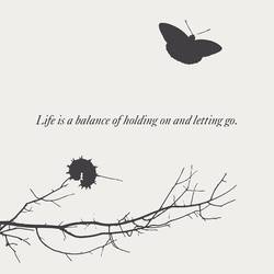 Letting go art print by Gallerist