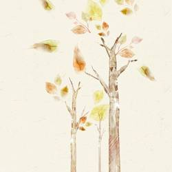 Tree with few leaf  art print by Gallerist