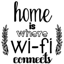 Wi-fi art print by Gallerist