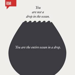 The drop art print by Gallerist