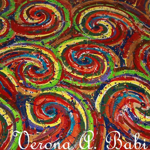 colour spirals, 35 x 27 inch, verona babi,paintings,abstract paintings,paintings for living room,paintings for office,canvas,acrylic color,oil,35x27inch,GAL0527212497