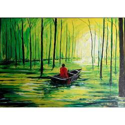 nature beauty , 30 x 22 inch, anuvind vinod,landscape paintings,nature paintings,paintings for dining room,paintings for living room,paintings for bedroom,paintings for office,paintings for hotel,paintings for dining room,paintings for living room,paintings for bedroom,paintings for office,paintings for hotel,canvas,acrylic color,30x22inch,GAL0528112535Nature,environment,Beauty,scenery,greenery