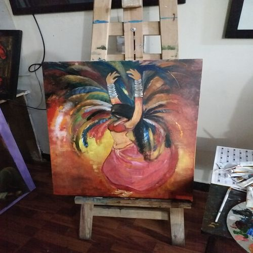 wings to fly, 35 x 25 inch, sonika ss,abstract expressionist paintings,art deco paintings,love paintings,paintings for living room,paintings for office,paintings for hotel,paintings for living room,paintings for office,paintings for hotel,paintings,figurative paintings,abstract paintings,canvas,acrylic color,35x25inch,GAL0531412570