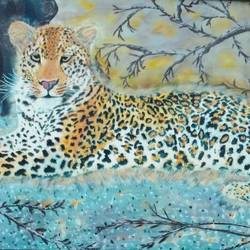 majesity in eye of the storm, 36 x 24 inch, j.k  chhatwal,animal paintings,canvas,acrylic color,36x24inch,GAL0537812743
