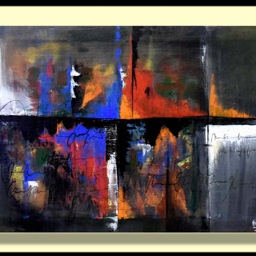 abstract, 18 x 29 inch, hardik khant,paintings,abstract paintings,canvas,acrylic color,18x29inch,GAL0215912867