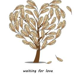 Love tree art print by Gallerist