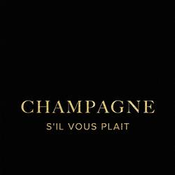 Champagne art print by Gallerist