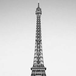 Tower of paris  art print by Gallerist