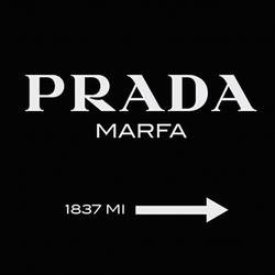Prada marfa  art print by Gallerist