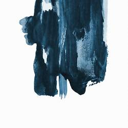 Blue shade  art print by Gallerist