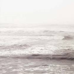 Sea with fog  art print by Gallerist