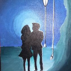 couple deeply in love, 9 x 12 inch, rishma patel,love paintings,paintings for living room,paintings for bedroom,paintings for living room,paintings for bedroom,canvas,acrylic color,9x12inch,GAL0548713096heart,family,caring,happiness,forever,happy,trust,passion,romance,sweet,kiss,love,hugs,warm,fun,kisses,joy,friendship,marriage,chocolate,husband,wife,forever,caring,couple,sweetheart