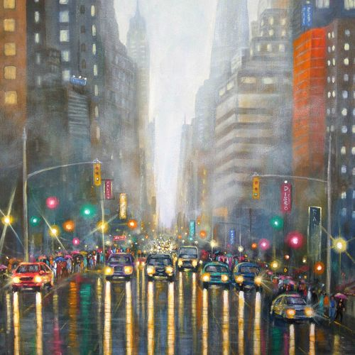 toronto -the city of joy, 18 x 30 inch, sandeep rawal ,cityscape paintings,paintings for dining room,paintings for living room,paintings for bedroom,paintings for office,paintings for bathroom,paintings for kids room,paintings for hotel,paintings for kitchen,paintings for school,paintings for hospital,canvas,acrylic color,18x30inch,GAL0251113141