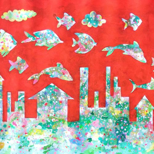 childhood imagination, 16 x 30 inch, sandeep rawal ,abstract paintings,cityscape paintings,conceptual paintings,nature paintings,abstract expressionist paintings,animal paintings,contemporary paintings,love paintings,water fountain paintings,children paintings,paintings for dining room,paintings for living room,paintings for bedroom,paintings for office,paintings for bathroom,paintings for kids room,paintings for hotel,paintings for kitchen,paintings for school,paintings for hospital,canvas,acrylic color,16x30inch,GAL0251113143Nature,environment,Beauty,scenery,greenery