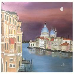 venice, italy, 24 x 20 inch, subhash gijare,paintings,cityscape paintings,paintings for living room,paintings for office,paintings for kids room,paintings for hotel,paintings for school,paintings for hospital,paintings for living room,paintings for office,paintings for kids room,paintings for hotel,paintings for school,paintings for hospital,canvas,oil,24x20inch,GAL013813159