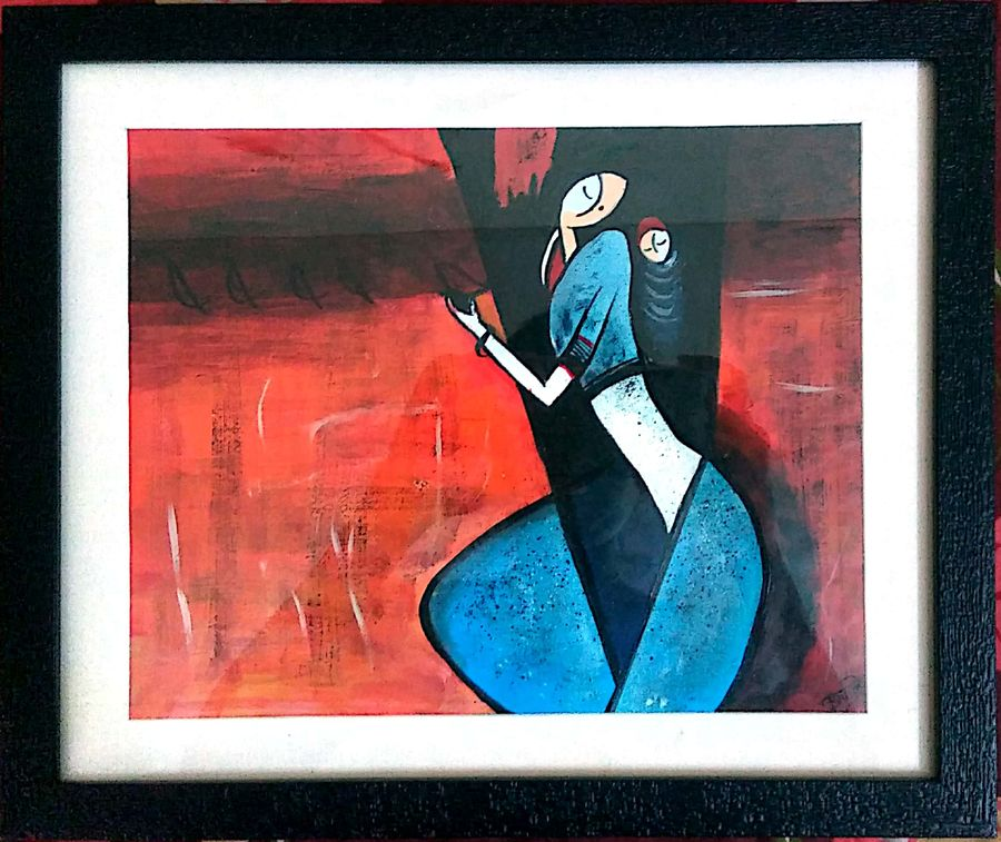 mother's love, 11 x 10 inch, tejal apale,figurative paintings,love paintings,paintings for dining room,paintings for living room,paintings for kids room,paintings for hotel,paintings for hospital,paintings for dining room,paintings for living room,paintings for kids room,paintings for hotel,paintings for hospital,drawing paper,acrylic color,11x10inch,GAL0552113166heart,family,caring,happiness,forever,happy,trust,passion,romance,sweet,kiss,love,hugs,warm,fun,kisses,joy,friendship,marriage,chocolate,husband,wife,forever,caring,couple,sweetheart