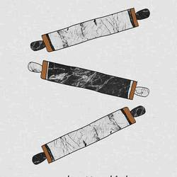 Three roller  art print by Gallerist