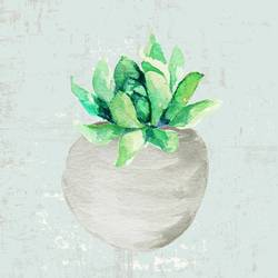 Small green leaf  art print by Gallerist
