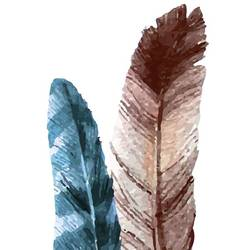 Bird feather  art print by Gallerist