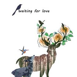 Waiting for love  art print by Gallerist