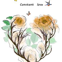 Constant of love art print by Gallerist