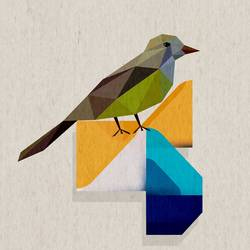 Sharp bird  art print by Gallerist