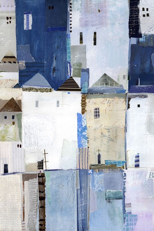 House in blue
