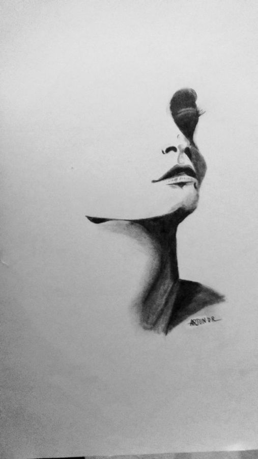women's day , 12 x 17 inch, arjun v nair,portrait drawings,thick paper,graphite pencil,12x17inch,GAL0560413535