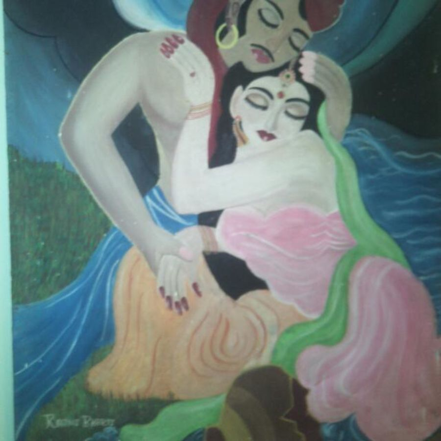 sohni mahiwal, 24 x 31 inch, rajni bharti,paintings,figurative paintings,love paintings,paintings for dining room,paintings for living room,paintings for bedroom,paintings for office,paintings for hotel,hardboard,oil,24x31inch,GAL0563713581heart,family,caring,happiness,forever,happy,trust,passion,romance,sweet,kiss,love,hugs,warm,fun,kisses,joy,friendship,marriage,chocolate,husband,wife,forever,caring,couple,sweetheart