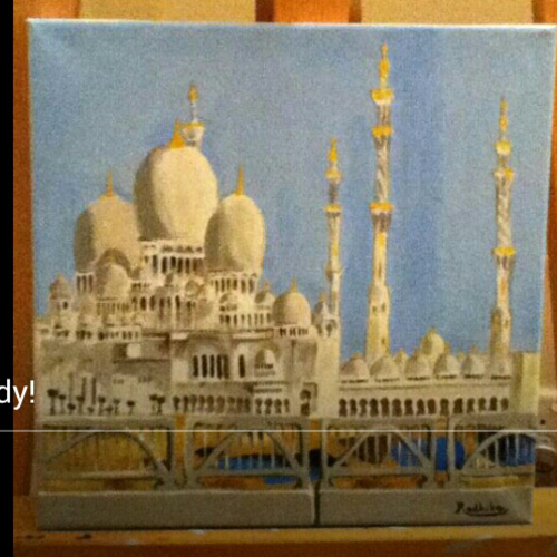 mosque, 12 x 12 inch, radhika menon,paintings,religious paintings,realism paintings,paintings for dining room,paintings for living room,paintings for bedroom,paintings for office,paintings for kids room,paintings for hotel,paintings for school,paintings for hospital,paintings for dining room,paintings for living room,paintings for bedroom,paintings for office,paintings for kids room,paintings for hotel,paintings for school,paintings for hospital,canvas,acrylic color,12x12inch,GAL0553313619