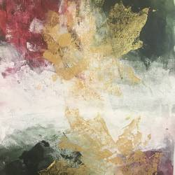 maple leaf abstract, 12 x 16 inch, kanika arora,paintings,abstract paintings,nature paintings,paintings for living room,paintings for hotel,paintings for living room,paintings for hotel,canvas,acrylic color,12x16inch,GAL0568413642Nature,environment,Beauty,scenery,greenery