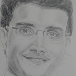 dada, 11 x 13 inch, puja nag,drawings,paintings for living room,portrait drawings,paintings for living room,paper,pencil color,11x13inch,GAL091913668