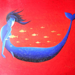 mermaid, 30 x 20 inch, avijit sil,paintings,abstract paintings,paintings for dining room,paintings for living room,paintings for bedroom,paintings for office,paintings for hotel,paintings for kitchen,paintings for school,paintings for dining room,paintings for living room,paintings for bedroom,paintings for office,paintings for hotel,paintings for kitchen,paintings for school,ivory sheet,acrylic color,30x20inch,GAL0508713676