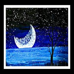 the white moon, 28 x 16 inch, huma sadiya,nature paintings,paintings for bedroom,love paintings,thick paper,watercolor,28x16inch,GAL05631372heart,family,caring,happiness,forever,happy,trust,passion,romance,sweet,kiss,love,hugs,warm,fun,kisses,joy,friendship,marriage,chocolate,husband,wife,forever,caring,couple,sweetheartNature,environment,Beauty,scenery,greenery