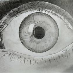 sketching of eye, 11 x 17 inch, arjun v nair,kids drawings,paintings for kids room,thick paper,graphite pencil,11x17inch,GAL0560413754
