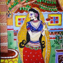 indie girl in madhubani art, 10 x 14 inch, nikita mehta,flower paintings,folk art paintings,conceptual paintings,portrait paintings,abstract expressionist paintings,realism paintings,street art,contemporary paintings,realistic paintings,paintings for dining room,paintings for living room,paintings for bedroom,paintings for office,paintings for bathroom,paintings for kids room,paintings for hotel,paintings for kitchen,paintings for school,paintings for dining room,paintings for living room,paintings for bedroom,paintings for office,paintings for bathroom,paintings for kids room,paintings for hotel,paintings for kitchen,paintings for school,madhubani paintings,canvas,acrylic color,fabric,10x14inch,GAL0575513772