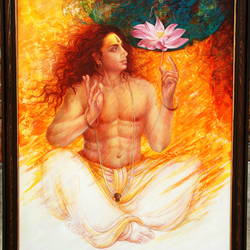 transcendence, 42 x 72 inch, brahm dutt,paintings,religious paintings,impressionist paintings,realism paintings,surrealist paintings,realistic paintings,paintings for dining room,paintings for living room,paintings for bedroom,paintings for office,paintings for hotel,paintings for dining room,paintings for living room,paintings for bedroom,paintings for office,paintings for hotel,canvas,mixed media,42x72inch,GAL0576713780