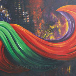 untitled - 4, 36 x 24 inch, sharad ambulkar,paintings,abstract paintings,contemporary paintings,paintings for dining room,paintings for living room,paintings for bedroom,paintings for office,paintings for bathroom,paintings for kids room,paintings for hotel,paintings for kitchen,paintings for school,paintings for hospital,canvas,acrylic color,36x24inch,GAL0494713876