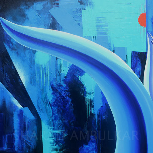 untitled - 8, 36 x 24 inch, sharad ambulkar,paintings,abstract paintings,contemporary paintings,paintings for dining room,paintings for living room,paintings for bedroom,paintings for office,paintings for hotel,paintings for kitchen,paintings for hospital,canvas,acrylic color,36x24inch,GAL0494713879