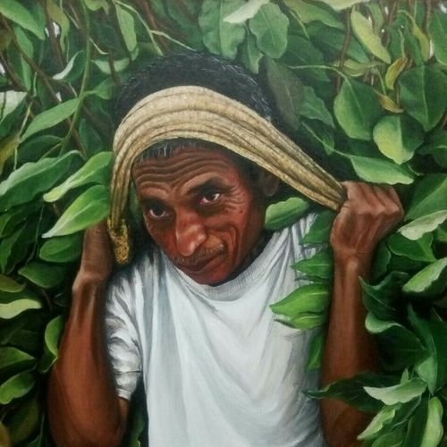 tea tribe, 24 x 30 inch, kalo bhromar paul,paintings,figurative paintings,portrait paintings,photorealism paintings,photorealism,portraiture,realistic paintings,paintings for dining room,paintings for living room,paintings for bedroom,paintings for office,paintings for hotel,paintings for dining room,paintings for living room,paintings for bedroom,paintings for office,paintings for hotel,canvas,acrylic color,24x30inch,GAL0585014009