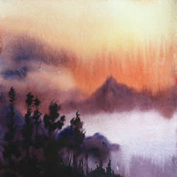 cloudy golden sunrise, 15 x 11 inch, samiran sarkar,paintings,landscape paintings,conceptual paintings,nature paintings,photorealism paintings,contemporary paintings,realistic paintings,paintings for dining room,paintings for living room,paintings for bedroom,paintings for office,paintings for hotel,paintings for school,paintings for hospital,handmade paper,watercolor,15x11inch,GAL0574914033Nature,environment,Beauty,scenery,greenery