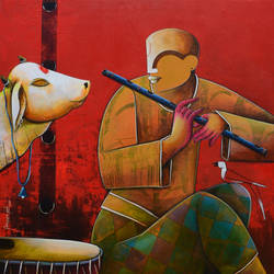in a conversation , 36 x 42 inch, anupam  pal,abstract paintings,figurative paintings,conceptual paintings,religious paintings,paintings for dining room,paintings for living room,paintings for bedroom,paintings for office,paintings for bathroom,paintings for kids room,paintings for hotel,paintings for kitchen,paintings for school,paintings for hospital,paintings for dining room,paintings for living room,paintings for bedroom,paintings for office,paintings for bathroom,paintings for kids room,paintings for hotel,paintings for kitchen,paintings for school,paintings for hospital,canvas,acrylic color,36x42inch,GAL08214106