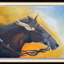 horse in wind, 18 x 24 inch, hardik khant,paintings,wildlife paintings,portrait paintings,horse paintings,paintings for living room,paintings for bedroom,paintings for office,paintings for hotel,paintings for living room,paintings for bedroom,paintings for office,paintings for hotel,drawing paper,acrylic color,18x24inch,GAL0215914126