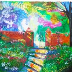beautiful original  of natural garden, 29 x 20 inch, nidhi wadhwa,still life paintings,nature paintings,art deco paintings,realism paintings,surrealist paintings,realistic paintings,paintings for dining room,paintings for living room,paintings for bedroom,paintings for kids room,paintings for hotel,paintings for hospital,paintings for dining room,paintings for living room,paintings for bedroom,paintings for kids room,paintings for hotel,paintings for hospital,canson paper,acrylic color,29x20inch,GAL0568714210Nature,environment,Beauty,scenery,greenery