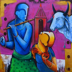 rhythms of love, 42 x 36 inch, anupam  pal,paintings,abstract paintings,figurative paintings,conceptual paintings,paintings for dining room,paintings for living room,paintings for bedroom,paintings for office,paintings for bathroom,paintings for kids room,paintings for hotel,paintings for kitchen,paintings for school,paintings for hospital,paintings for dining room,paintings for living room,paintings for bedroom,paintings for office,paintings for bathroom,paintings for kids room,paintings for hotel,paintings for kitchen,paintings for school,paintings for hospital,canvas,acrylic color,42x36inch,GAL08214211